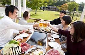 山中湖で体験や観光、バーベキューレストラン
